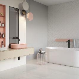 Bright Bathroom In Candy Colours Ceramika Paradyz