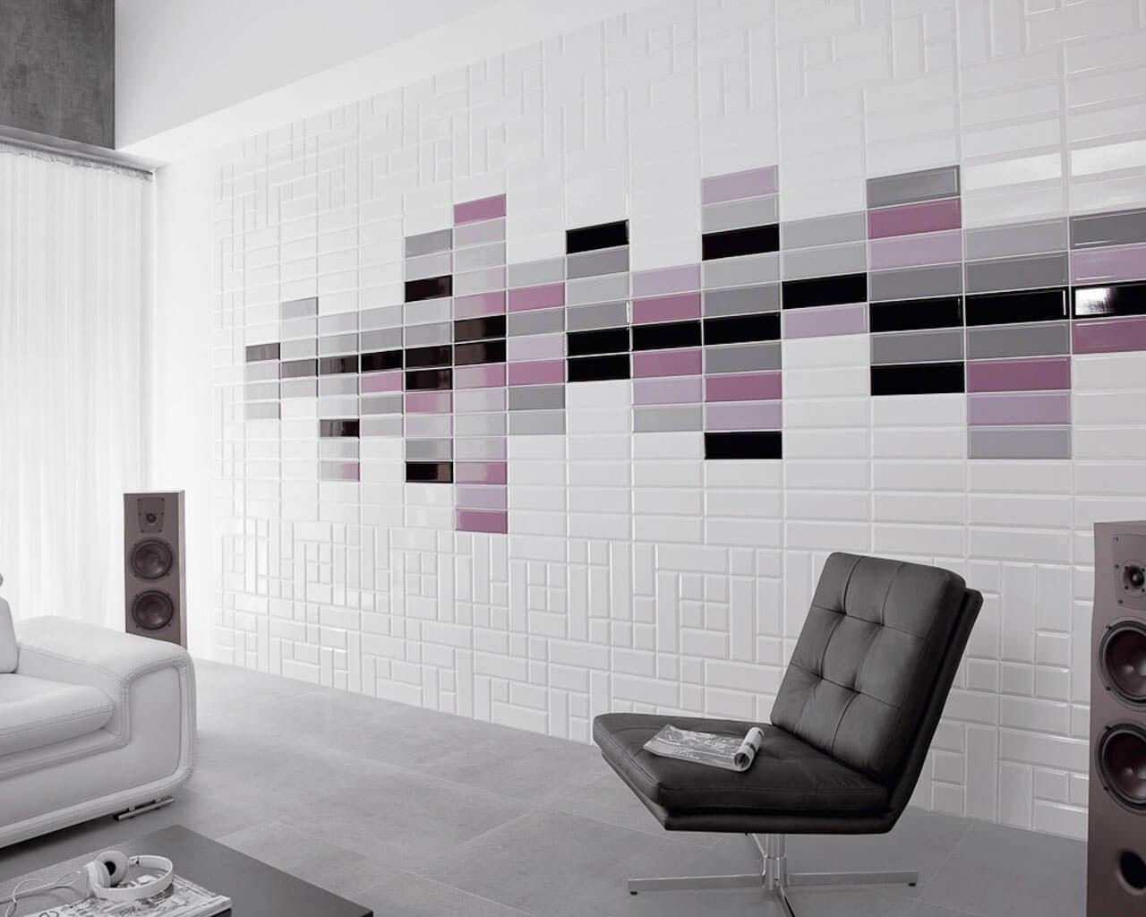 Tamoe Bathroom Tiles Slightly Corrugated Ceramika Paradyz