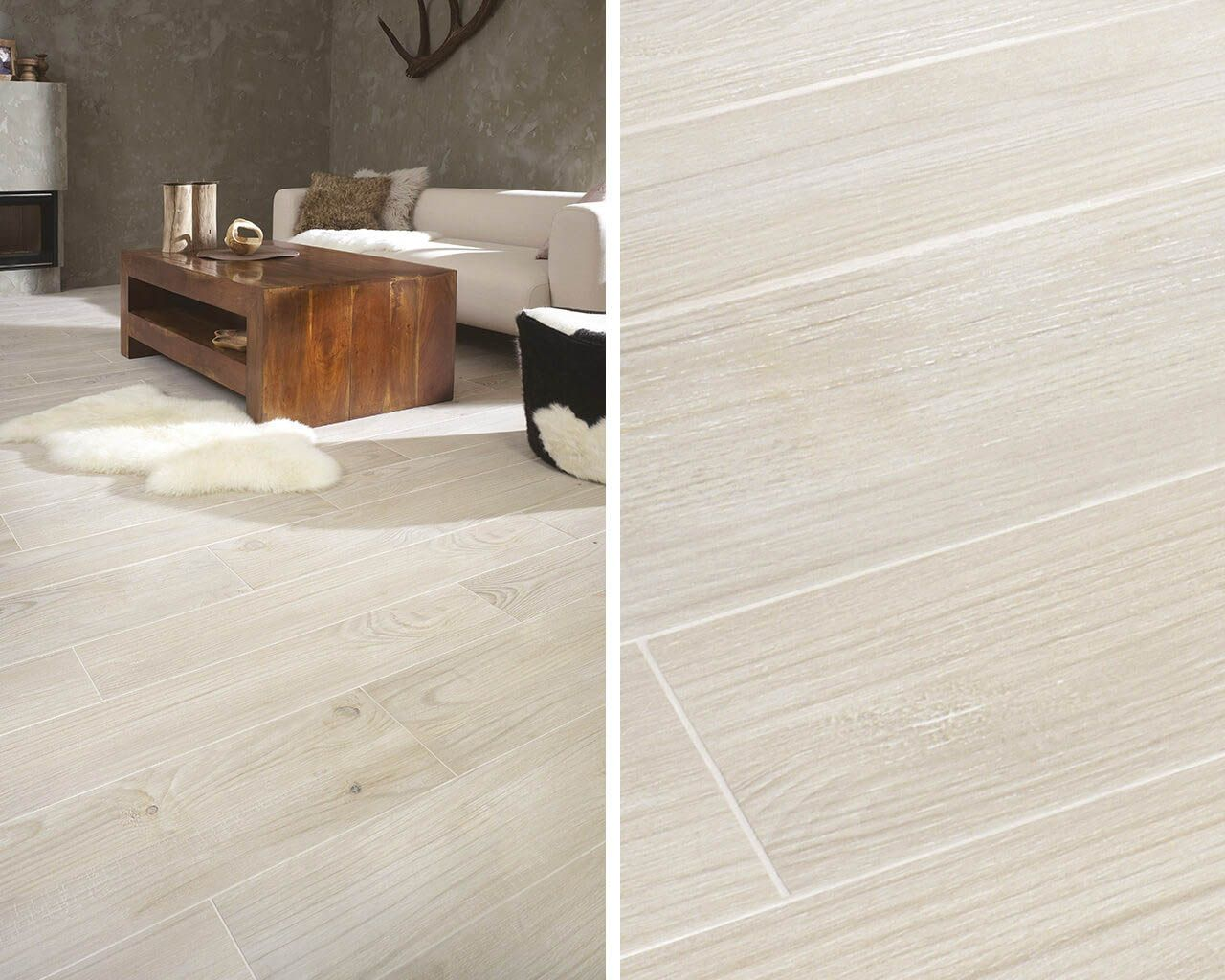 Thorno The Beauty Of Wood Captured In The Ceramic Floor