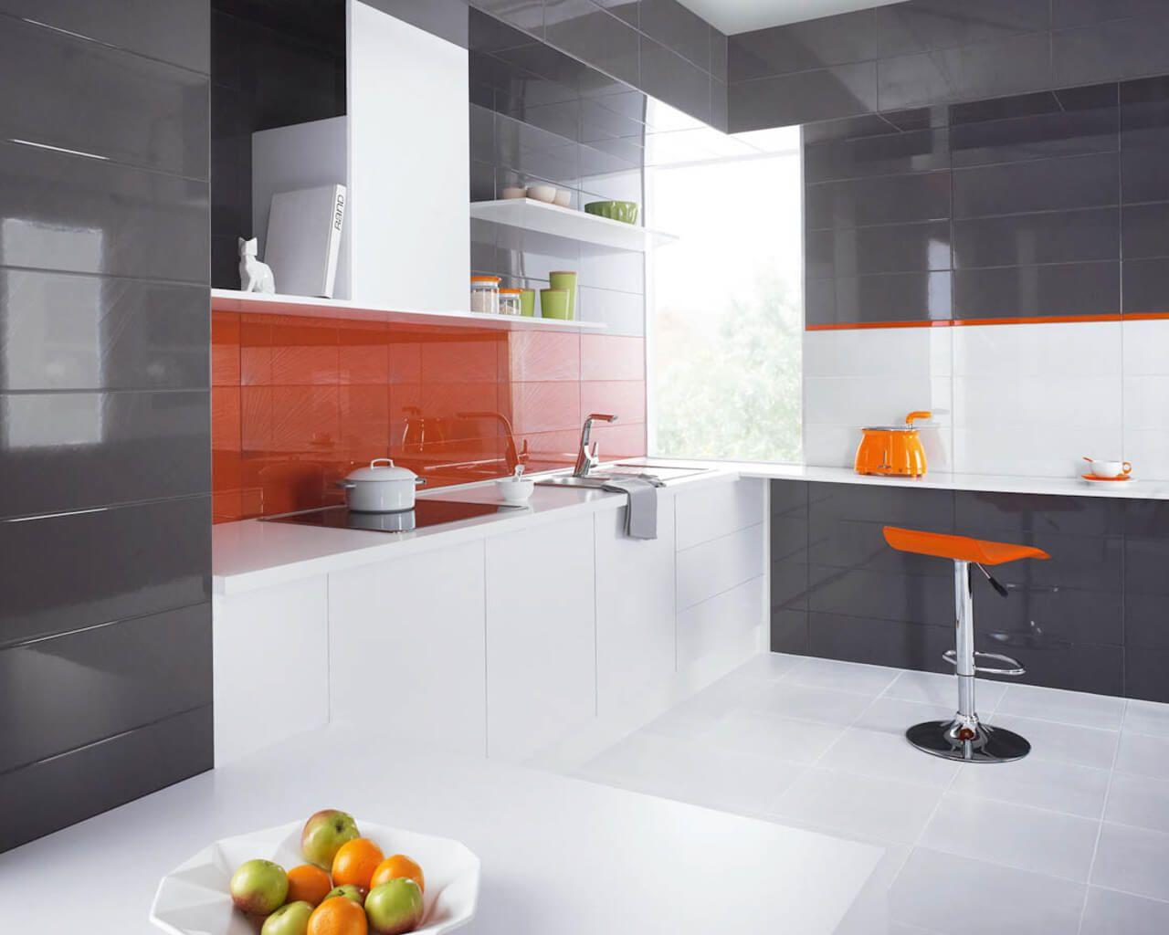 Yoshioka/Purio - glossy and elegant bathroom tiles | Ceramika Paradyz
