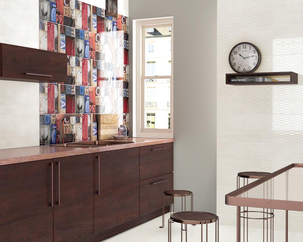 aranzacja-nowoczesnej-kolorowej-kuchni-reflection-reflex-ceramika-paradyz