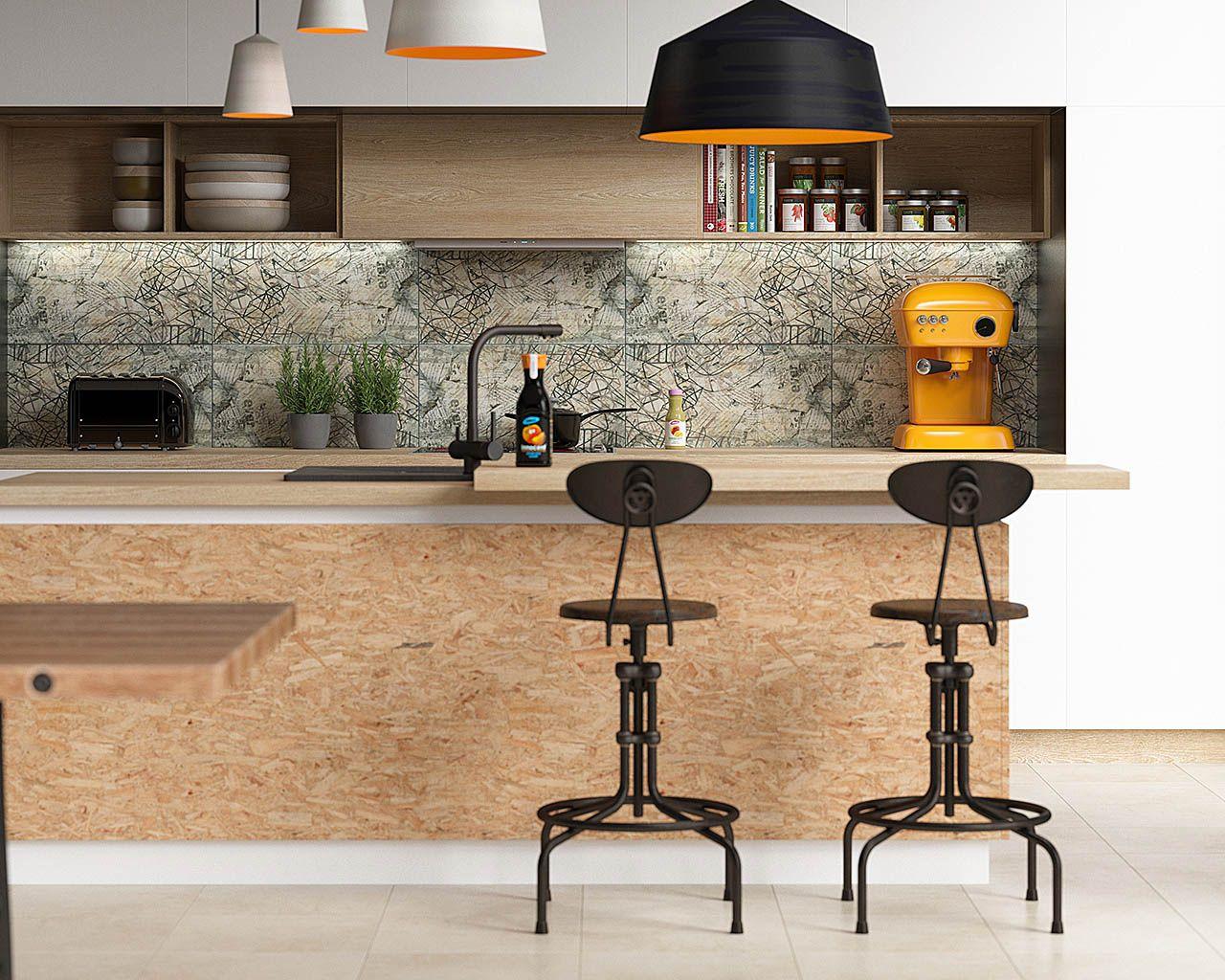 aranzacja-nowoczesnej-kuchni-ze-szklana-dekoracja-ermeo-ermo-ceramika-paradyz