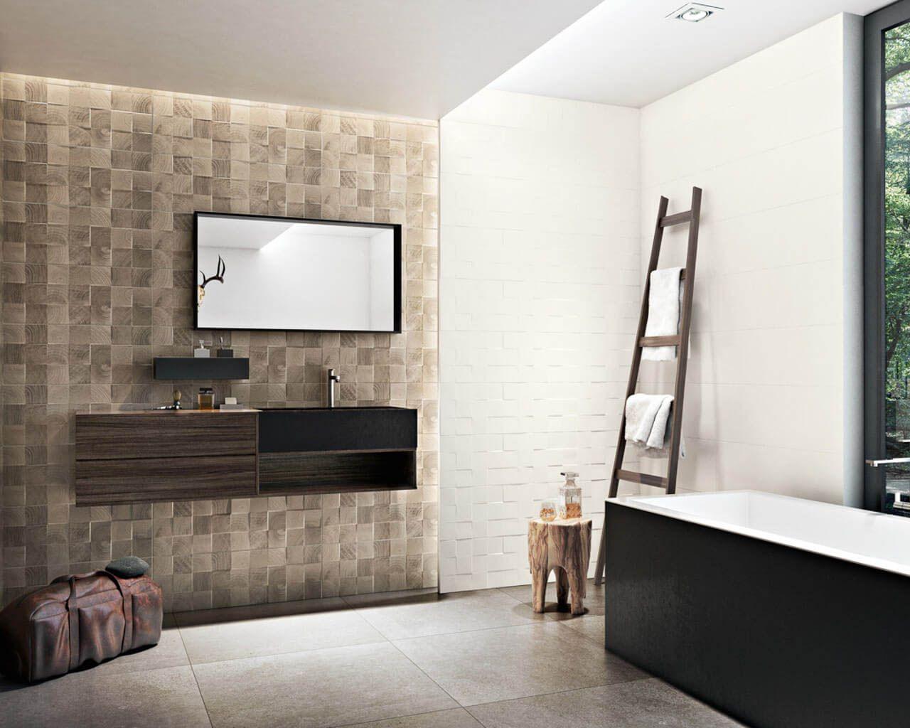 łazienka Z Wanną W Stylu Skandynawskim Ceramika Paradyż