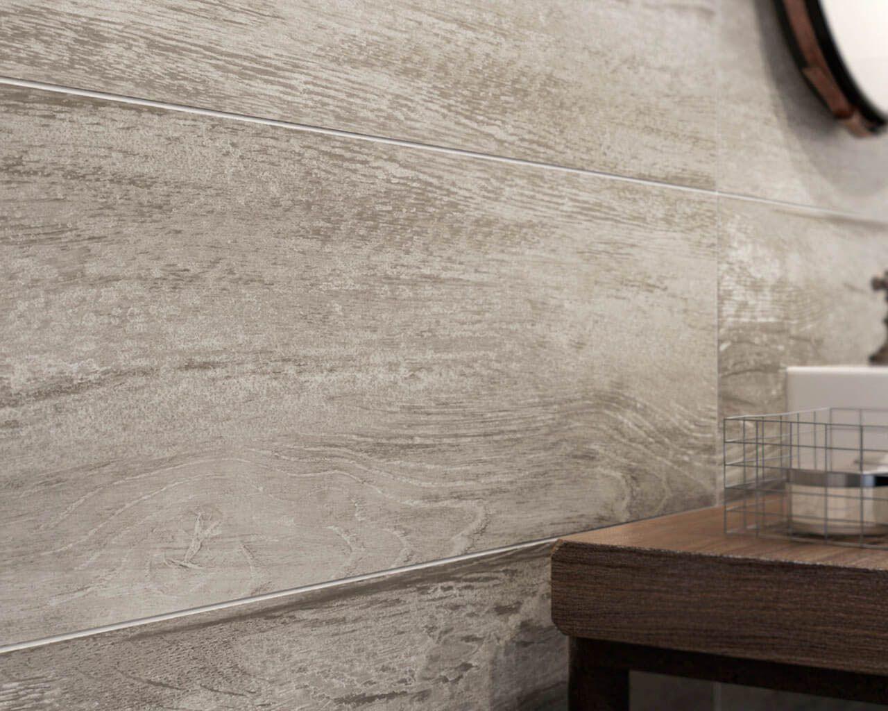 Struktura Drewna W Industrialnej łazience Ceramika Paradyż