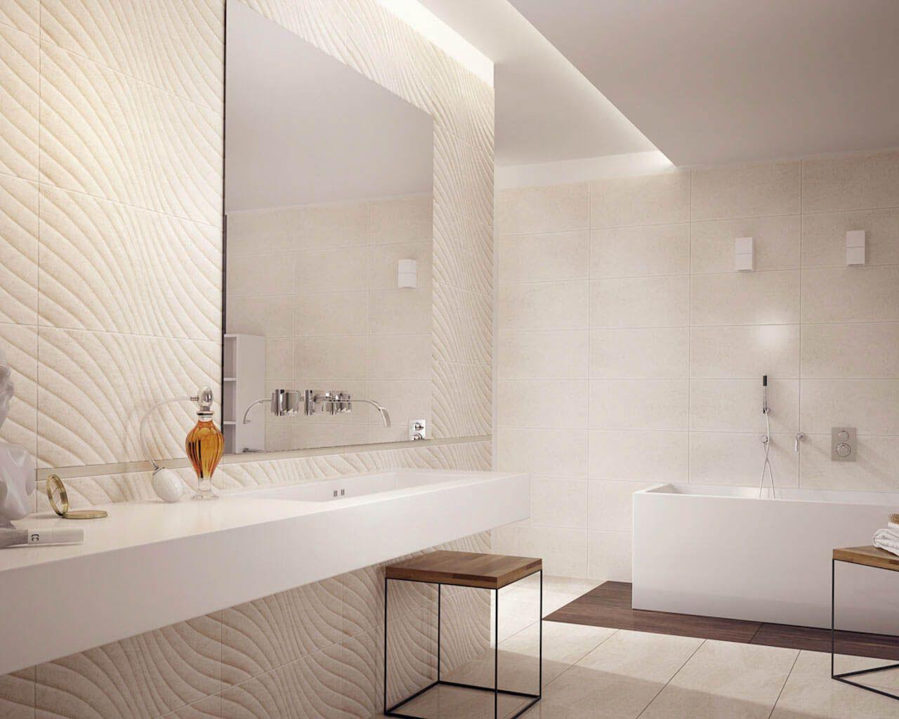 Classic Bathroom With A Bathtub In A Modern Version