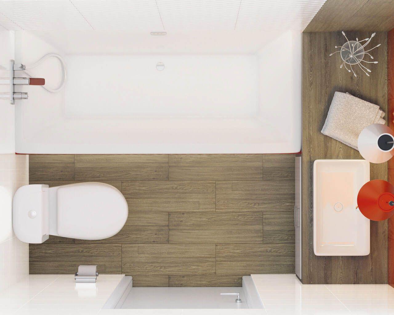 Podłużny Układ Niewielkiej łazienki Ceramika Paradyż