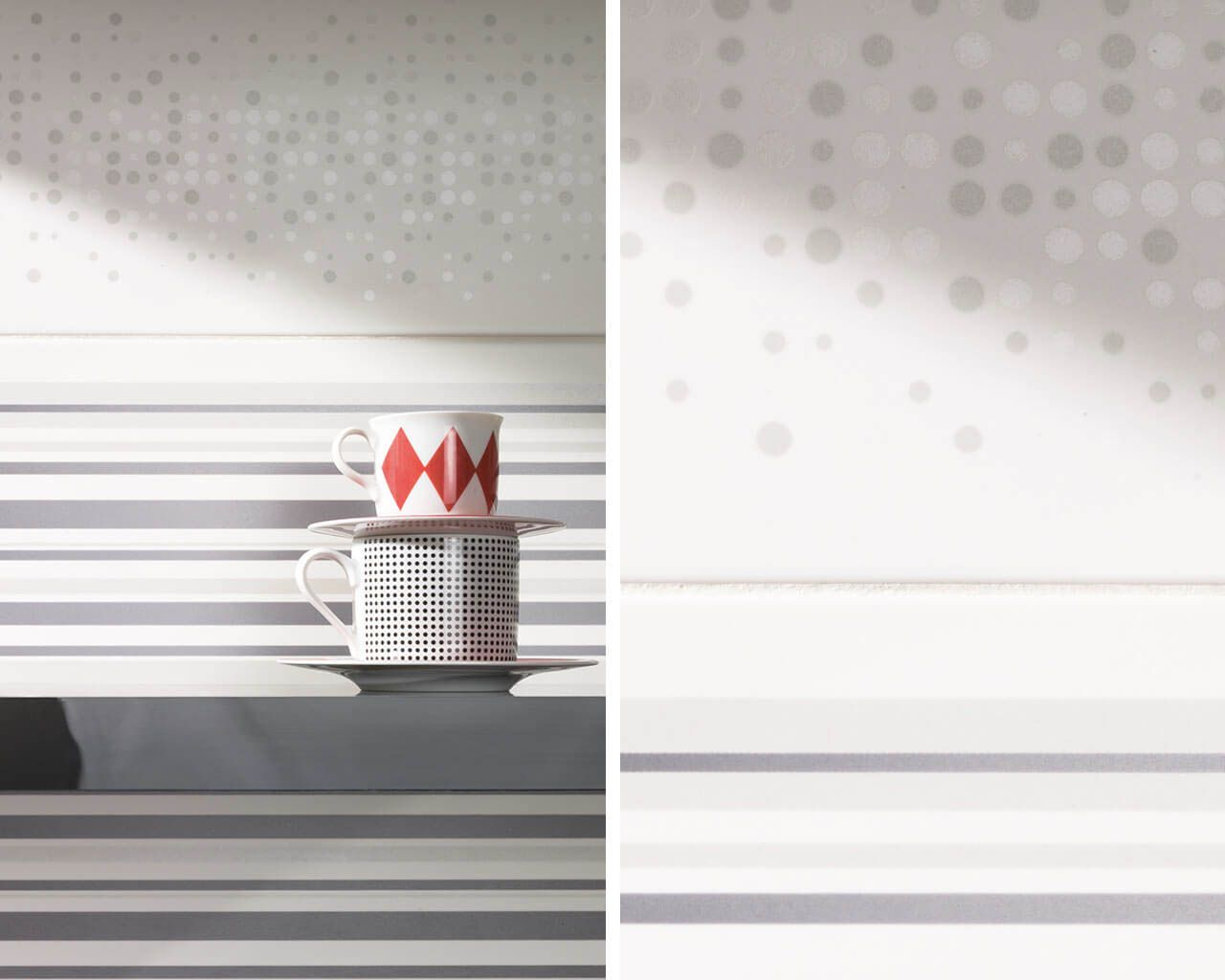 Minimalistische Kuche In Grautonungen Ceramika Paradyz