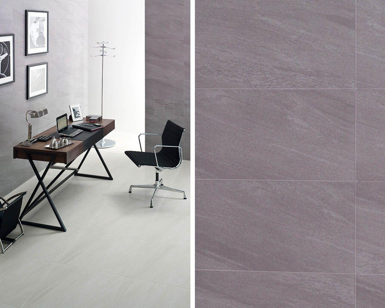 Modernes Arbeitszimmer im minimalistischen Stil | Ceramika Paradyz