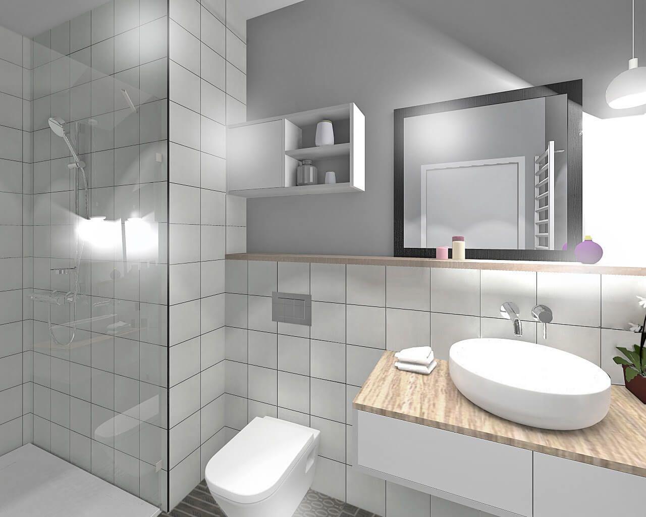 Małe Białe Dwudziestki Dla Efektownej łazienki Ceramika