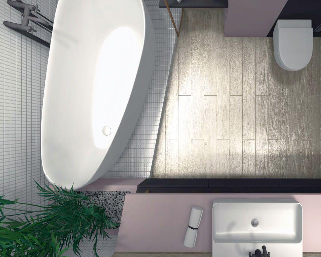 Domowe Spa W Nowoczesnej Małej łazience Ceramika Paradyż