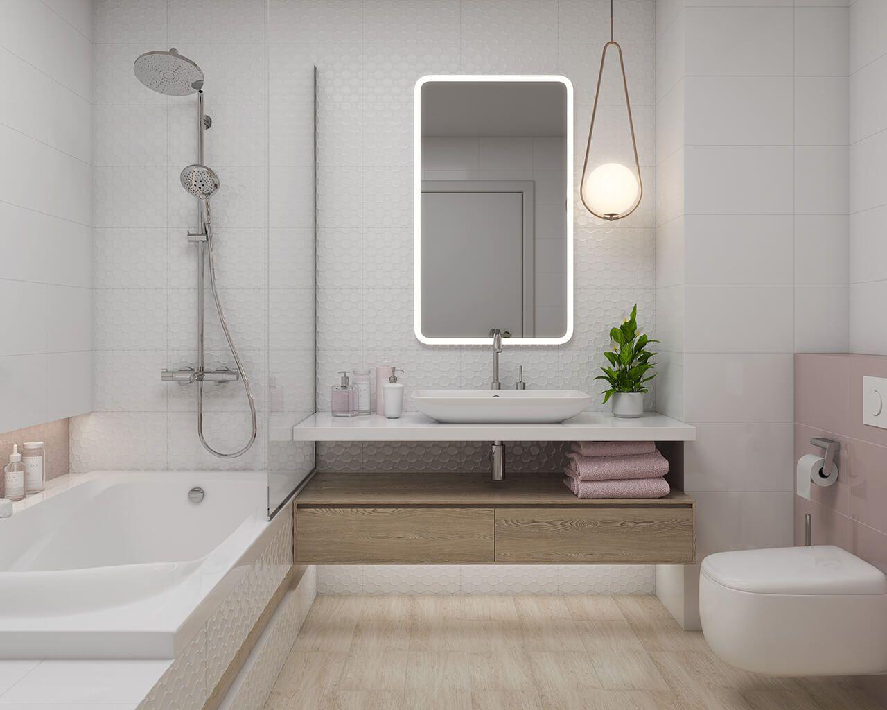 Ordnung Und Harmonie In Einem Hellen Badezimmer Ceramika Paradyz