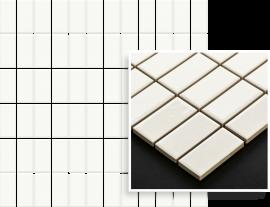 Altea Bianco Mozaika Prasowana K.2,3X4,8  - Biały - 298x298 - настенные плитки - Altea / Albir