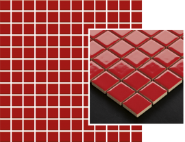 Altea Rosa Mozaika Prasowana K.2,3X2,3  - Różowy - 298x298 - настенные плитки - Altea / Albir
