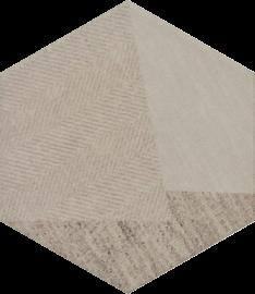 Esagon Linum Beige Inserto C  - Beżowy - 198x171 - декорации - Esagon