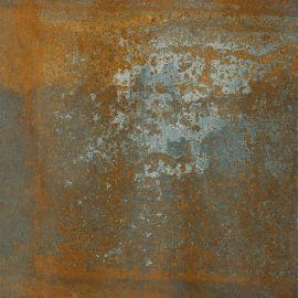 Lamiera Brown Gres Szkl. Rekt. Mat.  - Brązowy - 598x598 - Floor tiles - Lamiera