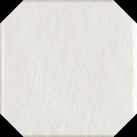 Modern Bianco Gres Szkl. Struktura Octagon  - Biały - 198x198 - Fussbodenfliesen - Modern