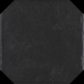 Modern Nero Gres Szkl. Struktura Octagon  - Czarny - 198x198 - Płytki podłogowe - Modern