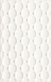 Martynika Bianco Ściana Struktura - Biały - 250x400 - Wall tiles - Martynika