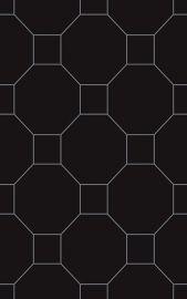 Martynika Nero Inserto - Czarny - 250x400 - Dekoracje - Martynika