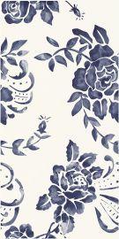Porcelano Blue Ściana Dekor - Niebieski - 300x600 - настенная плитка - Porcelano