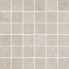 Riversand Beige Mozaika Cięta K.4,8X4,8 Mat.  - Beżowy - 298x298 - Dekoracje - Riversand