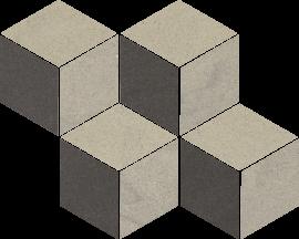 Rockstone Antracite Mozaika Cięta Mix - Czarny - 204x238 - Dekoracje - Rockstone