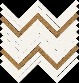 Uniwersalna Mozaika Bianco Paradyż Paris  - Biały - 281x301 - Mosaics - Uniwersalne mozaiki cięte