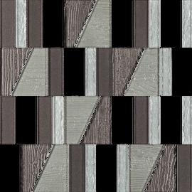 Uniwersalna Mozaika Szklana Nero Paradyż Tiffany Mix - Czarny - 298x298 - Mosaike - Uniwersalne mozaiki szklane