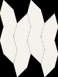 Uniwersalna Mozaika Bianco Paradyż Torton - Biały - 223x298 - Mozaiki - Uniwersalne mozaiki cięte