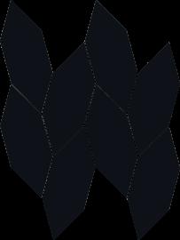 Uniwersalna Mozaika Nero Paradyż Torton - Czarny - 223x298 - Mosaike - Uniwersalne mozaiki cięte