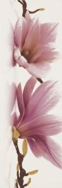 Abrila Inserto Flower A - Разноцветный - 200x600 - Настенный декор - Абрила / Пурио