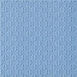Gammo Niebieski Gres Szkl. Struktura  - Niebieski - 198x198 - Płytki podłogowe - Gamma / Gammo