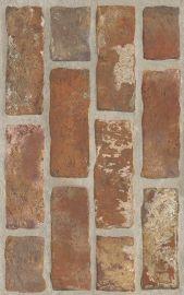 Loft Brown Ściana Struktura Brick - Brązowy - 250x400 - Płytki ścienne - Loft