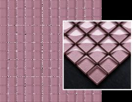 Uniwersalna Mozaika Szklana Paradyż Lilac  - Fioletowy - 298x298 - Mozaiki - Uniwersalne mozaiki szklane
