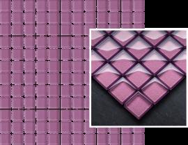 Uniwersalna Mozaika Szklana Paradyż Wrzos  - Fioletowy - 298x298 - Mosaics - Uniwersalne mozaiki szklane