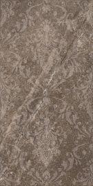 Palazzo Brown Inserto Ornament - Brązowy - 300x600 - декорации - Palazzo