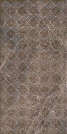 Palazzo Brown Inserto Shine  - Brązowy - 300x600 - Dekoracie - Palazzo