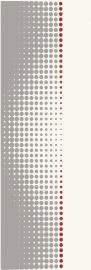 Midian Grys Inserto Punto   - Szary - 200x600 - Wall decorations - Midian / Purio