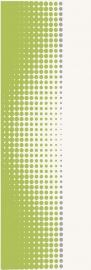 Midian Verde Inserto Punto   - Zielony - 200x600 - Wanddekorationen - Midian / Purio