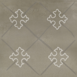 Tigua Grys Inserto A Mat.  - Szary - 298x298 - Dekoracje - Tigua
