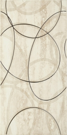 Amiche Beige Inserto C   - Beżowy - 300x600 - Wall decorations - Amiche / Amici
