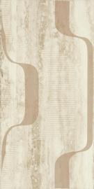 Amiche Beige Inserto D   - Beżowy - 300x600 - Wall decorations - Amiche / Amici