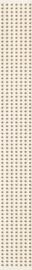 Doppia Beige Listwa   - Beżowy - 048x400 - Dekoracje - Doppia / Doppio