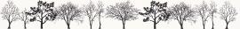 Veo Bianco Listwa   - Biały - 048x400 - Wall decorations - Veo