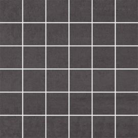Doblo Nero Mozaika Cięta Mat.  - Czarny - 298x298 - Dekoracje - Doblo