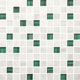 Laterizio Mozaika Cięta Mix K.2,3X2,3  - Wielokolorowe - 298x298 - мозаики - Laterizio / Lateriz