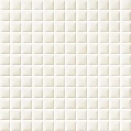 Antonella Bianco Mozaika Prasowana K.2,3X2,3  - Biały - 298x298 - декорации - Antonella / Anton