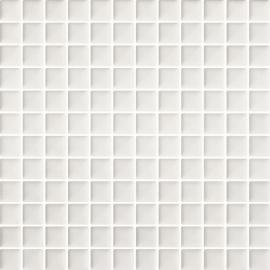 Orrios Bianco Mozaika Prasowana K.2,3X2,3  - Biały - 298x298 - Dekoracje ścienne - Orrios / Orrion