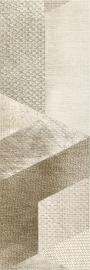 Attiya Beige Ściana Motyw C  - Beżowy - 200x600 - Płytki ścienne - Attiya