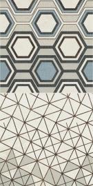 Orrios Ściana Motyw A   - Wielokolorowe - 300x600 - Płytki ścienne - Orrios / Orrion